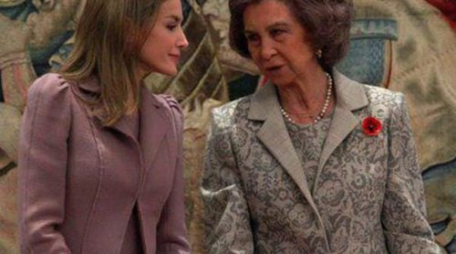 La Reina Sofía y la Princesa Letizia unen sus agendas para condecorar a título póstumo a Concha García Campoy
