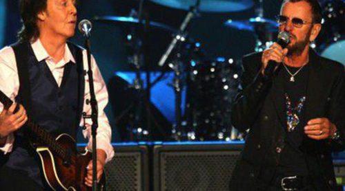 Paul McCartney y Ringo Starr protagonizan el homenaje a los Beatles de los Grammy 2014