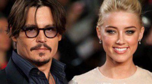 Johnny Depp y Amber Heard ya están con los preparativos de su boda