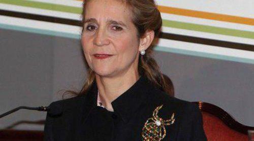 La Infanta Elena regresa a la vida oficial para entregar los premios del Foro Internacional de Mujeres Líderes