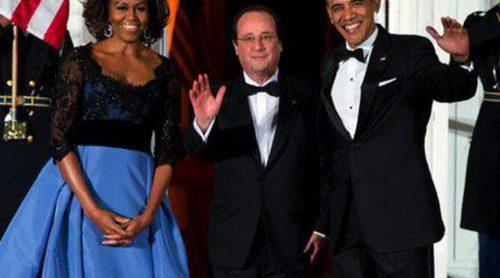 Barack y Michelle Obama ofrecen una cena de gala a Hollande con Bradley Cooper y Suki Waterhouse como invitados