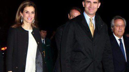 Los Príncipes Felipe y Letizia inauguran la nueva sede de la Agencia EFE junto a Ana Rosa Quintana y Susanna Griso