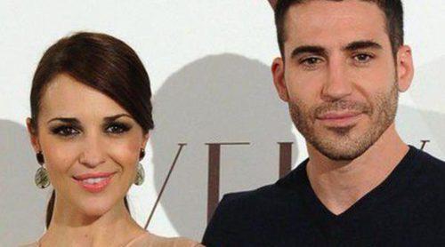Paula Echevarría y Miguel Ángel Silvestre, protagonistas en la presentación de 'Galerías Velvet'