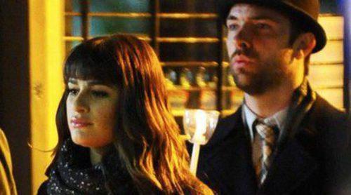 Lea Michele, Chord Overstreet y Chris Colfer despiden a un compañero de 'Glee'