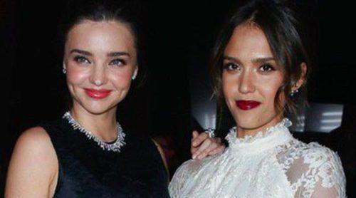 Miranda Kerr, Jessica Alba y Olivia Palermo, front row de lujo para H&M en París