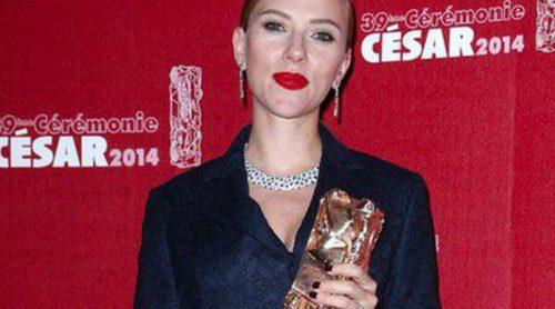 Scarlett Johansson, Adèle Exarchopoulos, Roman Polanski y Rossy de Palma, estrellas de los César 2014