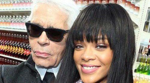 Cara Delevingne, Rihanna, Kendall Jenner y Pauline Ducruet van al supermercado parisino de Chanel