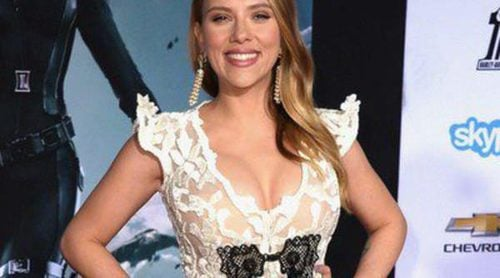 Scarlett Johansson y Chris Evans estrenan 'Capitán América: El Soldado de Invierno' en Los Angeles