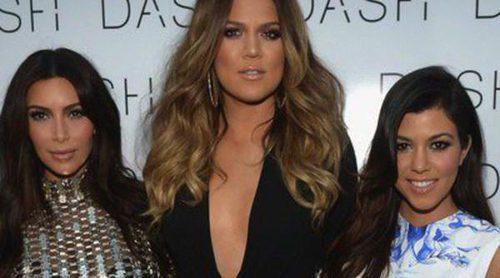Kim, Khloé y Kourtney Kardashian abren su nueva tienda Dash en Miami