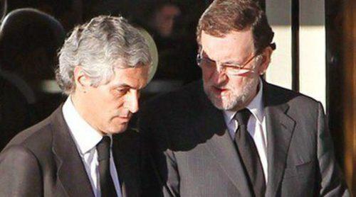 Juan José Padilla, Aznar, Ana Botella, Rubalcaba y Rajoy acuden al velatorio de Adolfo Suárez