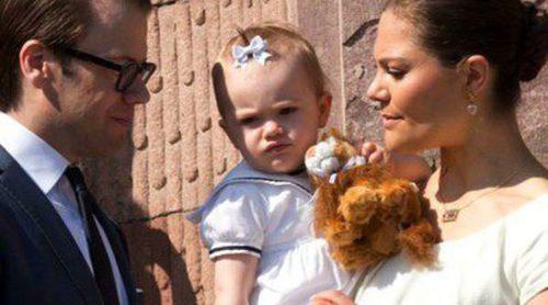 Victoria y Daniel de Suecia agradecen las felicitaciones recibidas por el cumpleaños de la Princesa Estela