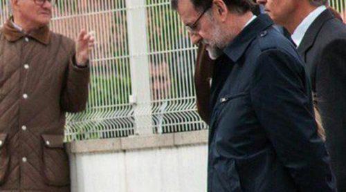 Mariano Rajoy y Elvira Fernández Balboa acuden al funeral de su hermano Luis Rajoy Brey en Pontevedra