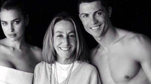 Cristiano Ronaldo e Irina Shayk posan juntos por primera vez para Mario Testino