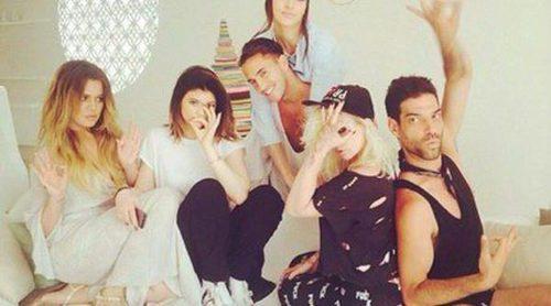 Kim Kardashian, Kendall Jenner, Khloe Kardashian y Kylie Jenner disfrutan de Tailandia