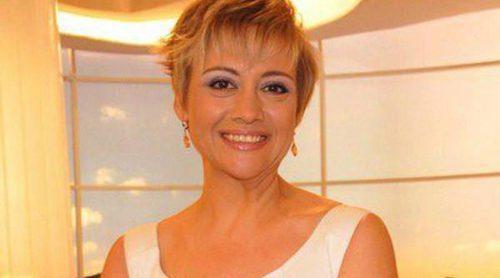 Gloria Serra se convertirá en madre de mellizos el próximo verano