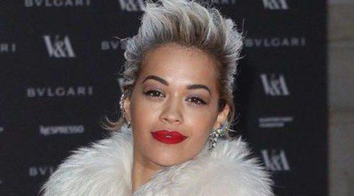 Rita Ora, Naomi Campbell y Poppy Delevingne, noche de moda italiana en Londres