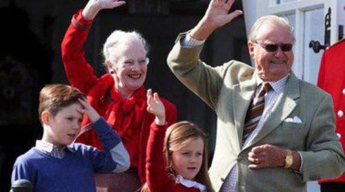 Margarita de Dinamarca reúne a la Familia Real salvo a la Princesa Athena en su 74 cumpleaños