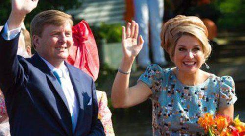 Los Reyes de Holanda celebran el primer año de reinado arropados por todo el pueblo holandés