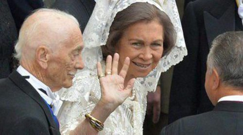 El Rey Juan Carlos I y la Reina Sofía acuden a la canonización de los Papas Juan XXIII y Juan Pablo II