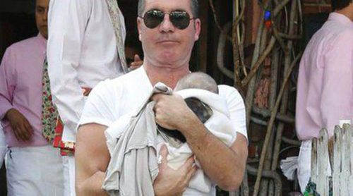 Simon Cowell, todo un padrazo con su hijo Eric