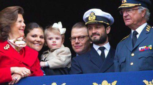 Estela de Suecia centra todas las miradas en la celebración del 68 cumpleaños del Rey Carlos Gustavo