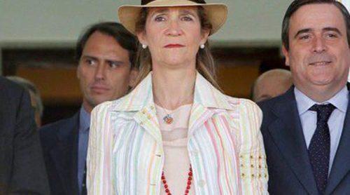 La Infanta Elena, Carlos Baute y Astrid Klisans acuden al Concurso de Saltos de Madrid