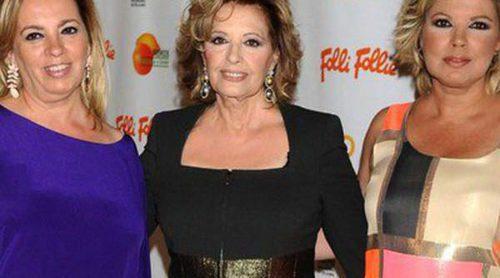 María Teresa Campos, Sergio Dalma y Lola Herrera recogen su galardón en los Premios Naranja y Limón 2014