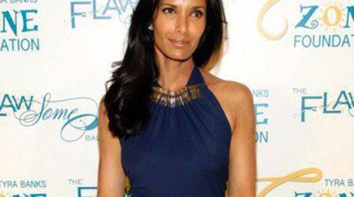Padma Lakshmi acude al Flawsome Ball 2014 sin desmentir su romance con Richard Gere