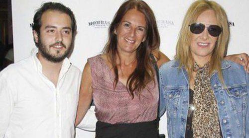 Maribel Sanz, Ángela Portero y Aaron Guerrero celebran el éxito del primer programa de '¡Mira quién salta!'
