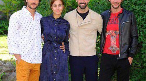 Megan Montaner, Miguel Ángel Muñoz y Eloy Azorín presentan 'Sin Identidad' antes de su estreno