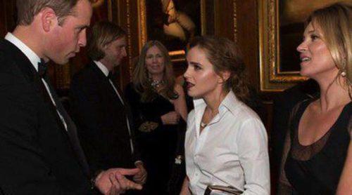 El Príncipe Guillermo invita a una cena benéfica a Emma Watson, Cate Blanchett y Kate Moss