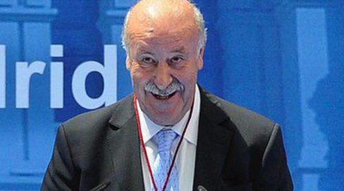 Vicente del Bosque recibe la Medalla de Oro de Madrid por San Isidro 2014