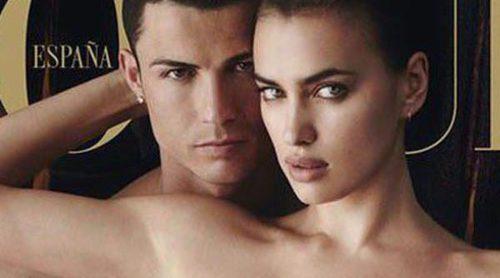 Cristiano Ronaldo se desnuda para la portada de Vogue junto a Irina Shayk