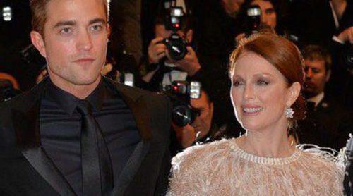 Robert Pattinson y Julianne Moore presentan 'Maps to the stars' en el Festival de Cannes 2014