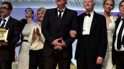 Paz Vega, Uma Thurman, Sofia Loren, Adrian Brody y Daniel Brühl, estrellas de la gala de clausura del Festival de Cannes 2014