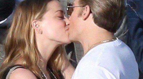 Amber Heard, de visita romántica en el rodaje de la nueva película de Johnny Depp