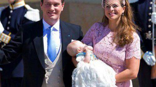 La Familia Real Sueca bautiza a la Princesa Leonor en una ceremonia 'íntima'