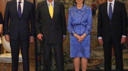 Los Reyes Juan Carlos y Sofía almuerzan con los titulares de los Poderes del Estado para despedir el reinado de Juan Carlos I