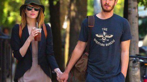 Andrew Garfield y Emma Stone disfrutan del buen tiempo dando un paseo romántico por Nueva York