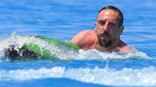 Franck Ribéry disfruta de unos días de vacaciones en Ibiza con amigos