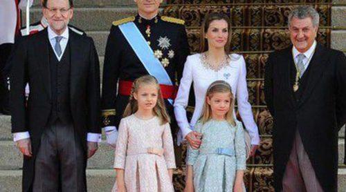 Las Infantas Pilar y Margarita, Pau Gasol y los padres y abuelos de la Reina Letizia, entre los invitados a la proclamación del Rey Felipe VI