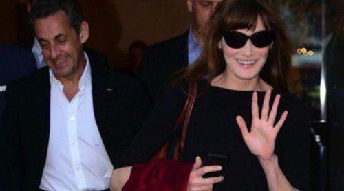 Nicolas Sarkozy, el mejor fan de Carla Bruni en su primer concierto en España