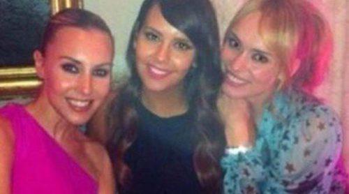 Patricia Conde, Cristina Pedroche y Berta Collado se reúnen en la boda de Miki Nadal