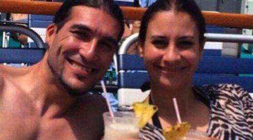 José Manuel Pinto y Elena Gross están disfrutando de un crucero junto a sus hijos