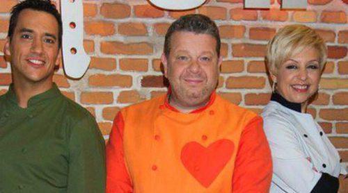 Alberto Chicote, Susi Díaz y Yayo Daporta presenta la segunda edición de 'Top Chef'