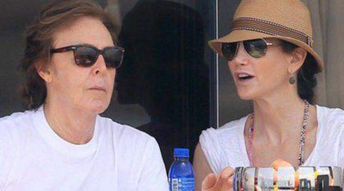 Paul McCartney y Nancy Shevell disfrutan de una jornada marítima en Ibiza