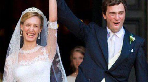 El Príncipe Amadeo de Bélgica se casa con Elisabetta Maria Rosboch von Wolkenstein en Roma