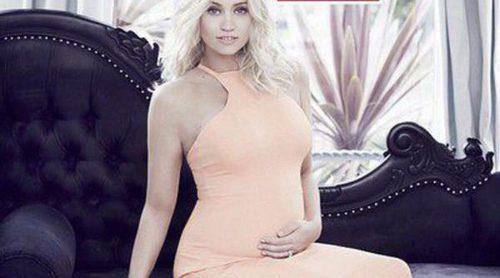 Kimberly Wyatt anuncia que su bebé con Max Rogers será niña