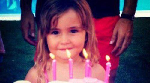 Carolina Cerezuela y Carlos Moyá celebran el cuarto cumpleaños de su hija Carla