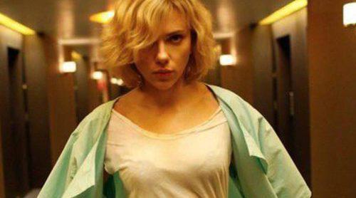 Scarlett Johansson protagoniza 'Lucy', que intentará desbancar a 'Guardianes de la galaxia' del Nº1